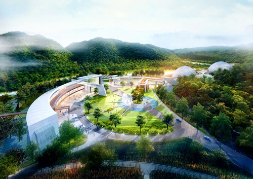 South Korea's Award-Winning Endangered Species Research Center