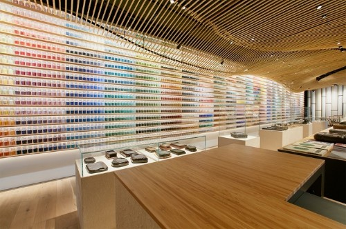 Japanese Art Store Lines Walls with Every Pigment Imaginable