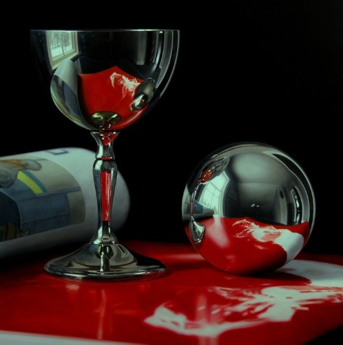 Hyperrealistic Still Life Paintings Filled with Layers of Detail