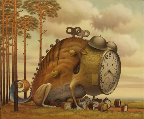 Surreal Paintings of Whimsical Hybrid Creatures by Jacek Yerka