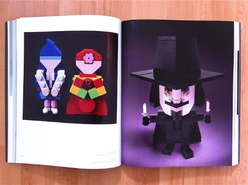 Inside the Brand New Beautiful LEGO Book by Mike Doyle