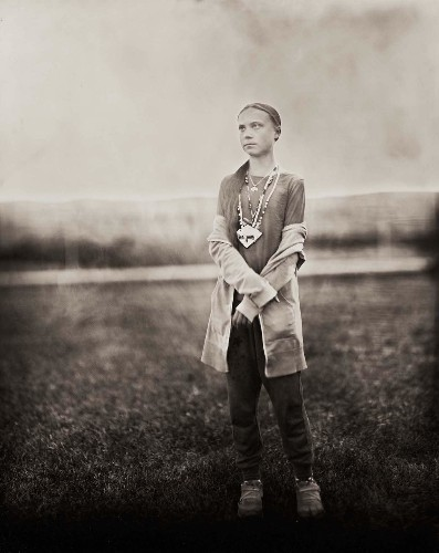 Greta Thunberg Is Immortalized in Powerful Wet Plate Portraits