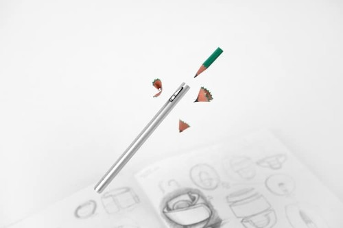 Ingenious Pencil Design Includes a Built-In Sharpener