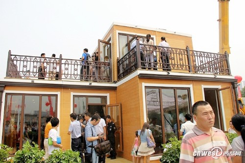 Innovative Chinese Company Assembles 3D-Printed Modular Home in Just Three Hours