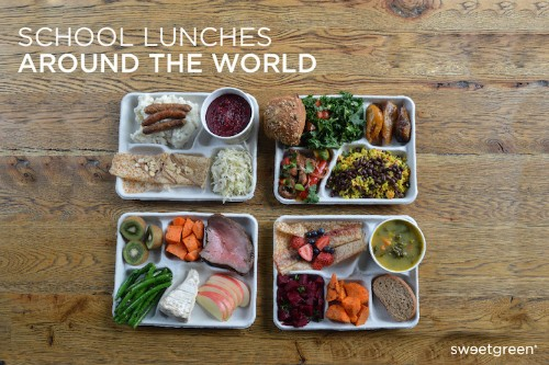 Revealing Photo Series Documents School Lunches Around the World