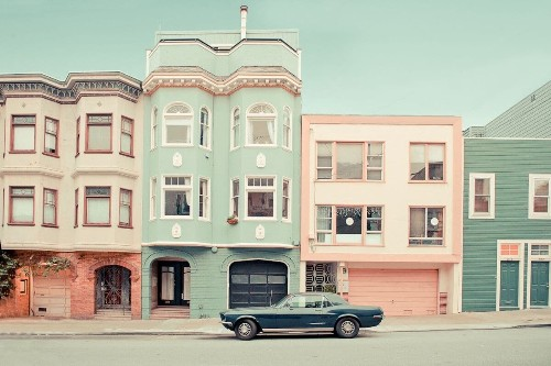 Dreamy Photos Capture the Candy-Colored Streets of San Francisco