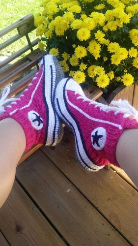 Iconic Converse Sneakers Get Reimagined as Cozy Knit Slippers