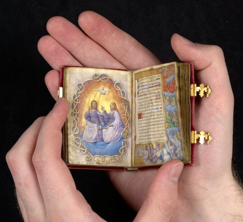 A Miniature Hand-Illustrated Book from the 16th Century