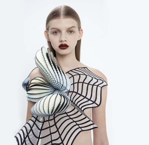 Innovative Fashion Collection Designed with 3D Printing Technology