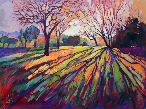 Interview: Erin Hanson Pioneers the Energetic Style of Open-Impressionism