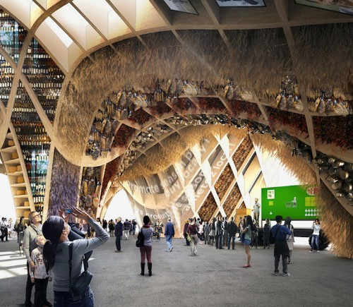 French Pavilion for Milan Expo Designed to Grow Fresh Food