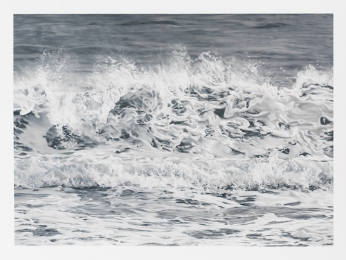 Photorealistic Pastel Drawings of Landscapes Affected by Climate Change