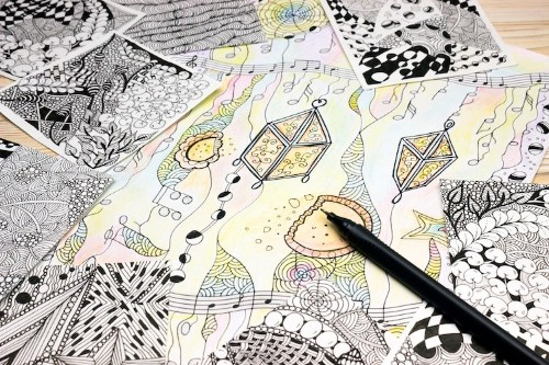 50+ Doodle Ideas That Everyone Will Have Fun Sketching