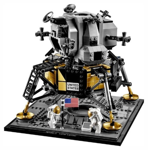 LEGO Launches NASA Apollo 11 Lunar Lander Kit for 50th Anniversary of Moon Landing