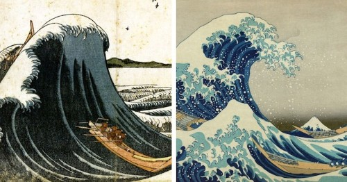 Older Versions of Hokusai's 'Great Wave' Show Its Surprising Evolution Over Time
