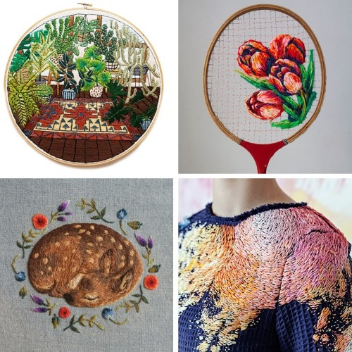 Embroidery Artists Whose Talents Wowed Us in 2016