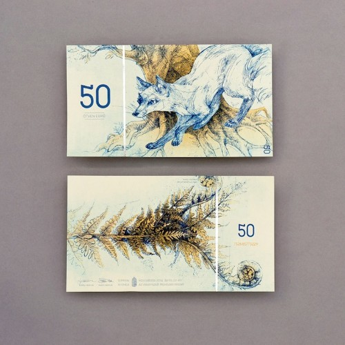Student Re-Imagines Hungarian Currency with Beautiful, Nature-Inspired Designs