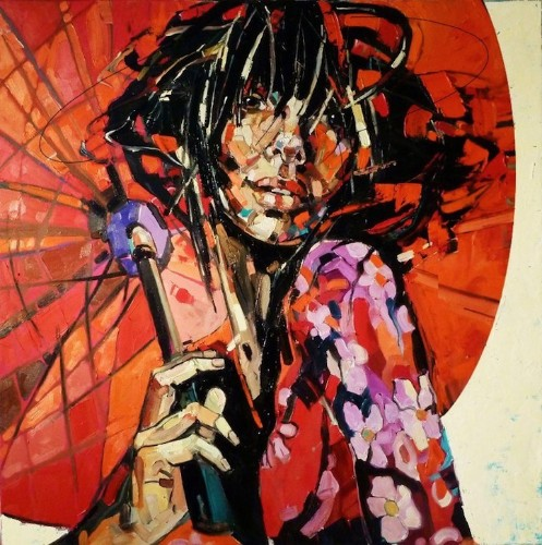 Vibrant Emotionally Charged Paintings of Expressive Women