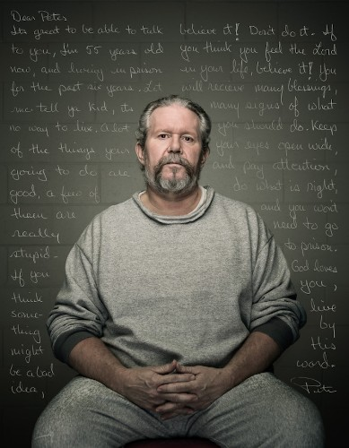 Powerful Inmate Portraits Paired with Letters to Younger Self