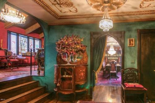 Ordinary Suburban Home Is Hiding a Luxurious Renaissance-Era Castle Inside