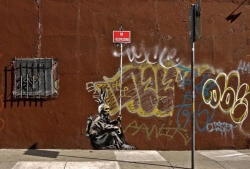 Top 12 Banksy Pieces of 2010