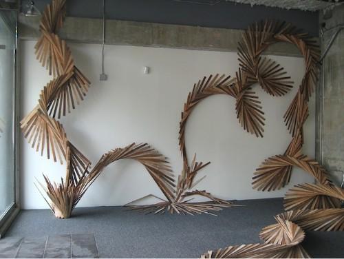 Lively Snakelike Installation Spans 100 Feet Long