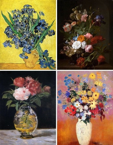 12 Famous Flower Paintings that Make the Canvas Bloom