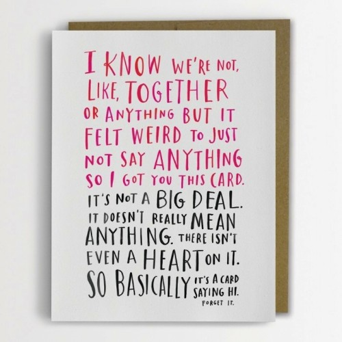 Adorably Awkward Cards by Emily McDowell