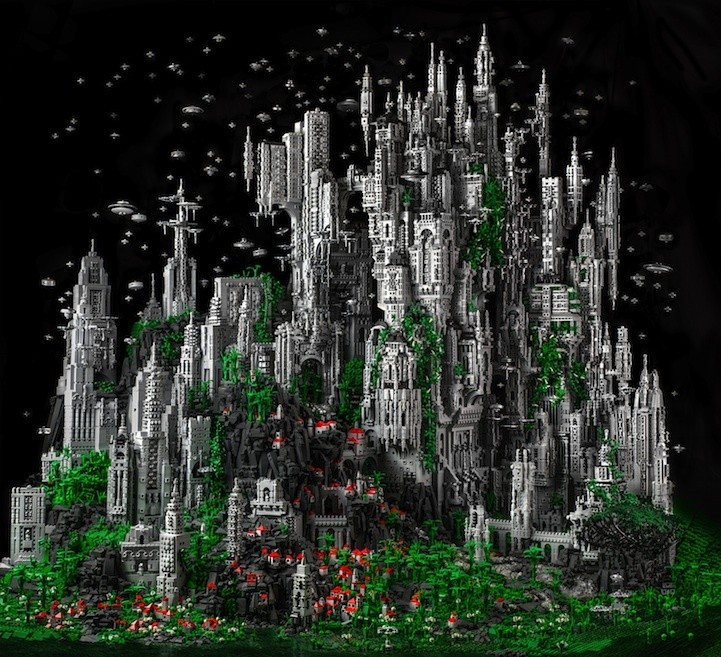 6 Amazing Lego Artworks That Will Blow Your Mind
