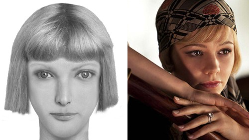 Police Sketches of Literary Characters Based on Their Book Descriptions