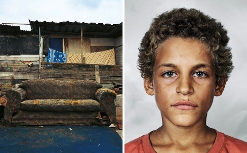 Portraits of Children Around the World and Where They Sleep