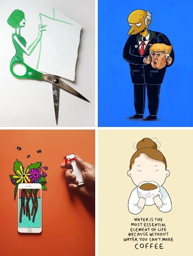 12 Witty Illustrators You Can Count on When You Need to Smile