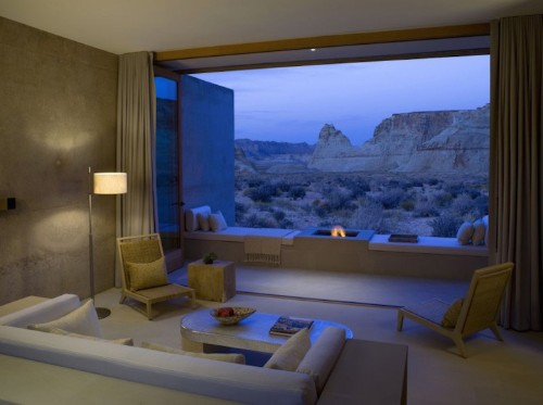 Luxury Spa Blends in Perfectly with Gorgeous Desert Background