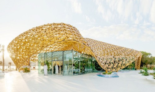 Golden Roof Pavilion Houses Over 500 Species of Butterflies