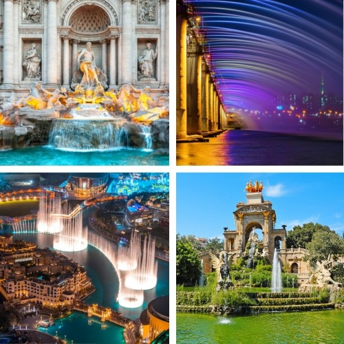 7 Famous Fountains Overflowing with Beauty Around the World