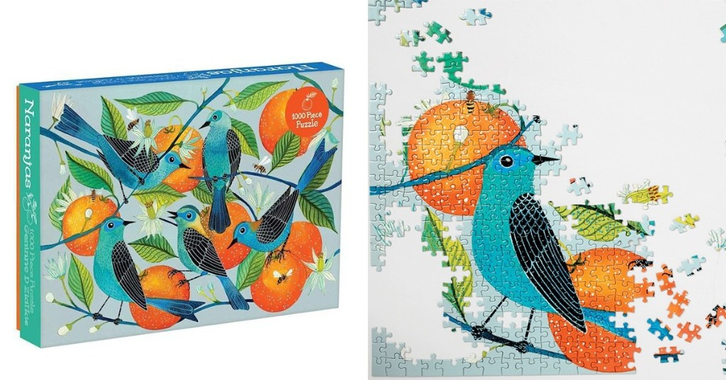 Bask in the Beauty of Nature With These Colorful Animal-Inspired Jigsaw Puzzles