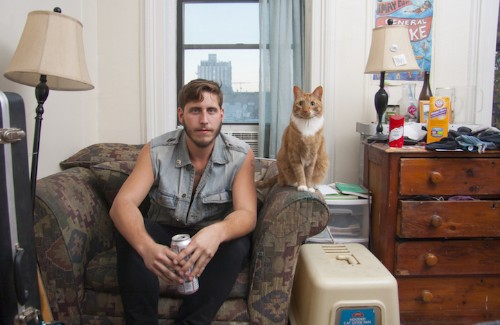 "Photographer Breaks ""Crazy Cat Lady"" Stereotype by Featuring Grown Men with Their Adorable Cats"