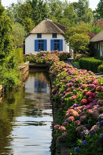 Village Without Roads Uses Canals to Maneuver Along Its Fairy Tale-Like Landscape
