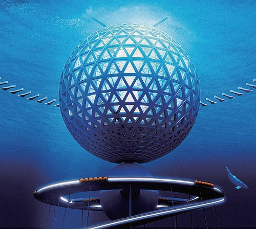 Japanese Design Firm Envisions a Gorgeous, Futuristic Underwater CIty