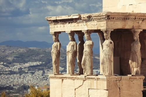 How Caryatids Have Beautifully Blended Sculpture and Architecture Since Ancient Times