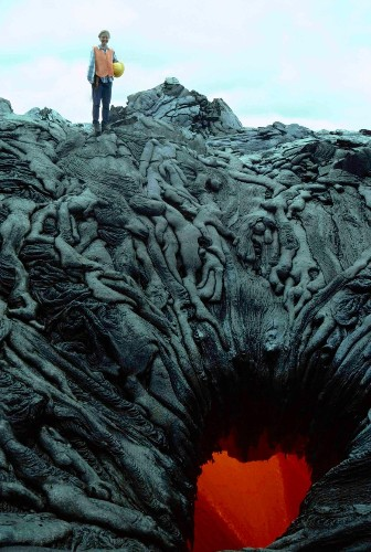 Oddly Shaped Lava Formations Look Like a Mass of Twisted Bodies