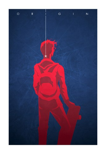 Clever Illustrations Show the Origin of Superheroes and Villains