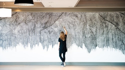 Artist Combines Passion for Math, Nature, and Art to Create Incredible Topographical Art