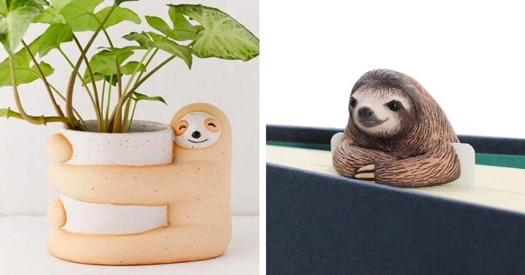 15+ Easy-Going Gift Ideas for Anyone That Loves Sloths