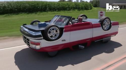 Incredible Topsy-Turvy Truck Looks Like It's Upside-Down