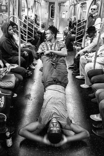Photographer Spends Years Documenting His Daily Commute on the New York Subway
