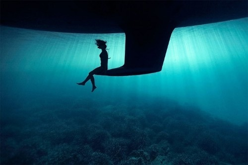 Stunning Underwater Images by a Photographer Drawn into the Depths of the Deep Blue Sea