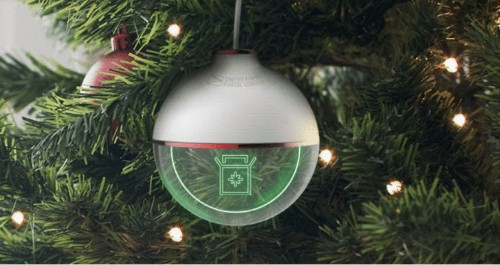 The Most Wonderful Ornament Tracks Your Holiday Package in Real Time