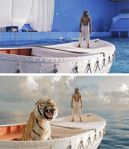 Before-and-After Shots Demonstrate the Incredible Power of Visual Effects on Screen
