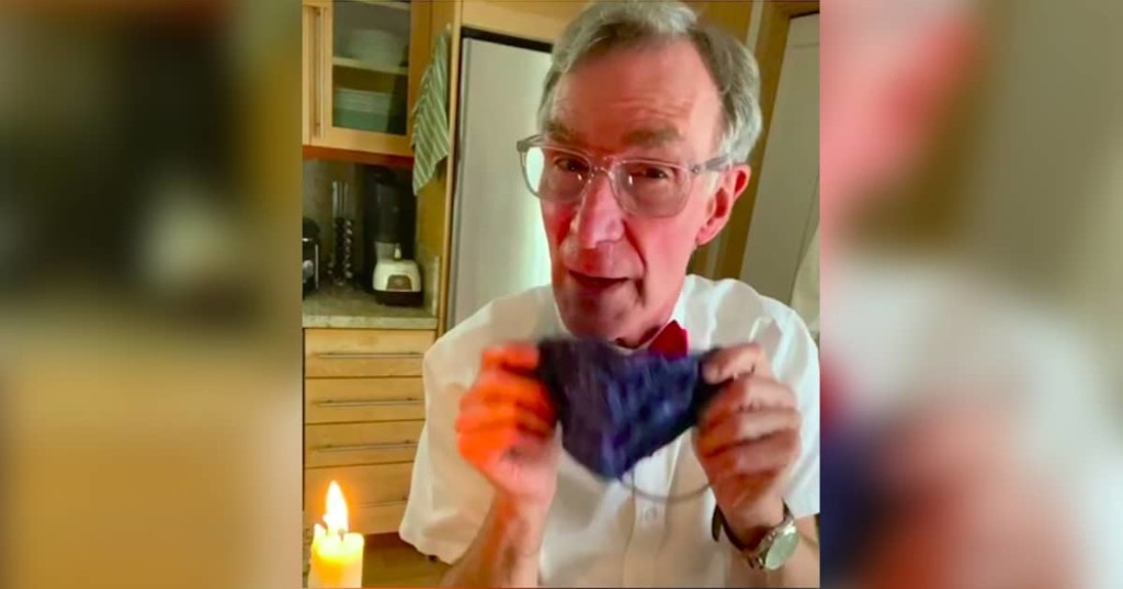 Bill Nye Explains Why We All Need to Wear Face Masks in Public